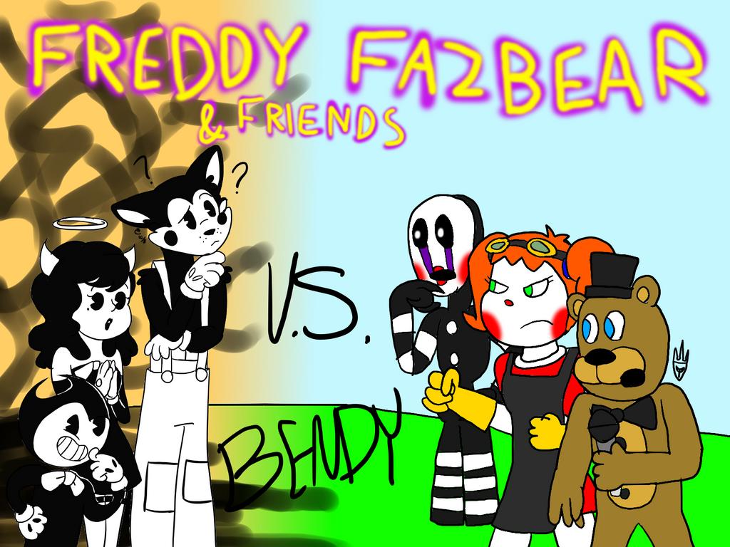 Freddy Fazbear And Friends Vs Bendy (Collab) By All