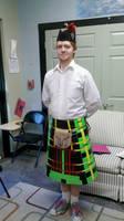 Duct Tape Scottish Kilt by Rift-Mark