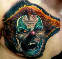 Clown Chest by brandonbond