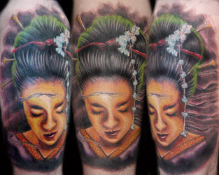 Geisha Collaboration by brandonbond