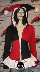 Corset Hoodie: Harley Quinn by Corset-Hoodies