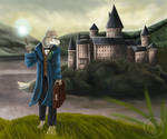 Leaving Hogwarts by AussieNerd01