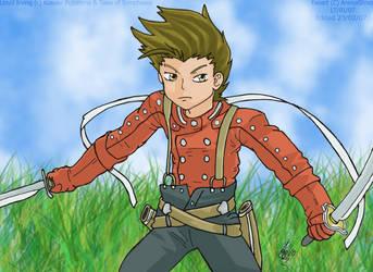 Drifting Swordsman -Lloyd- by AnimaStevo