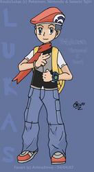 Lukas -Pokemon DP- by AnimaStevo