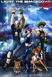 The Bebop Wrestling Federation by shokxone-studios