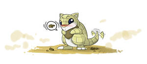 Pokemon: 11 Sandshrew by XxFallenYoshixX