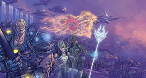 MBX Vol 01 19 Battle pandavas by Nisachar
