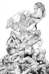 Ravanayan #10 -Cover-Pencils by Nisachar