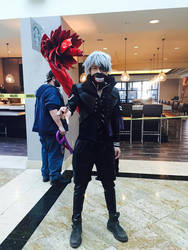 Kaneki Ken Cosplay by SouthPark4Ever14