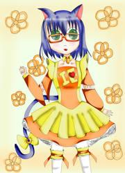 Haruna Neko-mimi Maid by SweetLollita