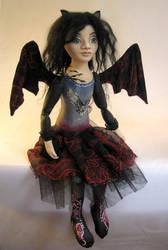 Murina - bat girl by AllegroMelody