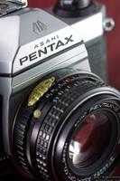 Pentax K1000 + 50mm F1.7 close by ak87