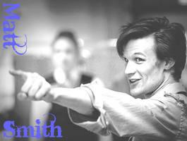 Matt Smith, 11th Doctor by SpyroGirlCazy