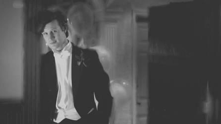Doctor -Matt Smith- In Black by SpyroGirlCazy