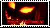 KR Stamp: Happy Halloween (Blood) by zirukurt01