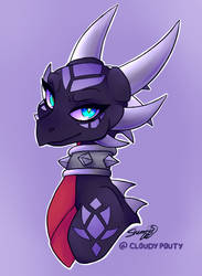Cynder - Doodle by cloudypouty