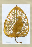 leaf crow by Eirieniel