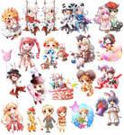 tRO : Chibi Commissions by himitsu-nk