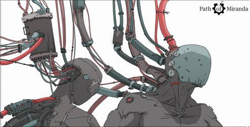 34/365 Cyborgs by snatti89