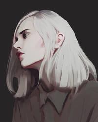 White hair by snatti89