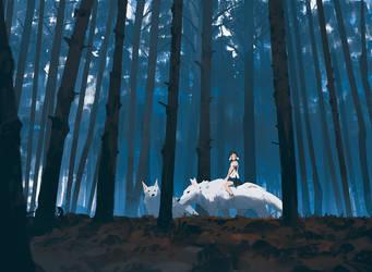 Princess Mononoke by snatti89
