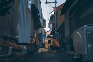 Alley cat by snatti89