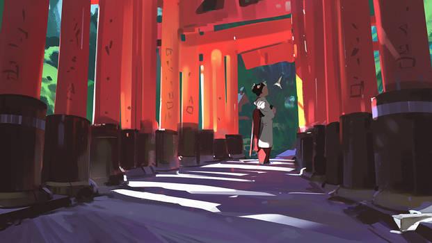 Shrine by snatti89