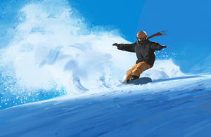 Snowboarding by snatti89
