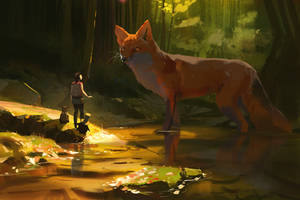 Path of Miranda_Forest spirit by snatti89