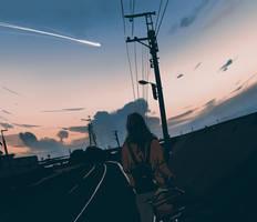 Falling star by snatti89