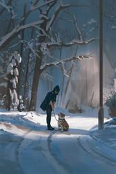 Throwback - winter walk by snatti89
