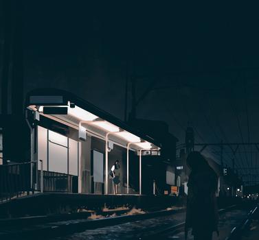 Japanese ghost story by snatti89