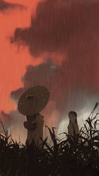 Rainy encounter by snatti89