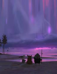 Path of Miranda_magic hour by snatti89