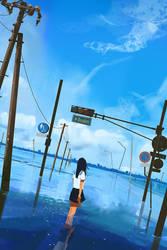 Flooded world by snatti89