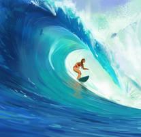 Surfing by snatti89