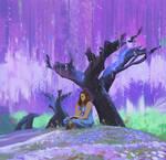 Purple by snatti89