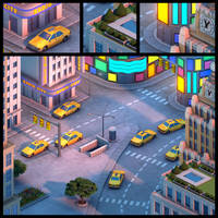 New York City, USA by BrettStebbins