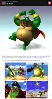 King K. Rool in Smash Bros. Dojo by romisnalo31