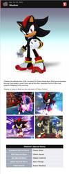 Shadow in Smash Bros. Dojo! v2 by romisnalo31