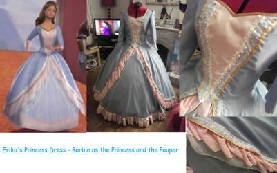 Erika's Princess Dress by BexiBeans