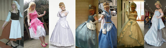 Cinderella Cosplay Collection by BexiBeans