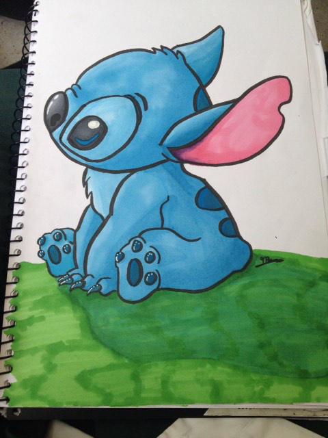 Stitch Fanart by PlushQueenDIY