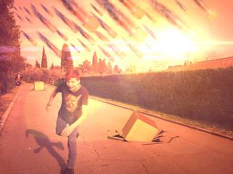 Meteor Shower by FxBoxStudio