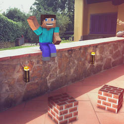 Minecraft in real life  by FxBoxStudio
