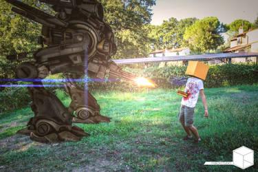 The Robot by FxBoxStudio