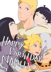 Happy Birthday Naruto by Jericoe