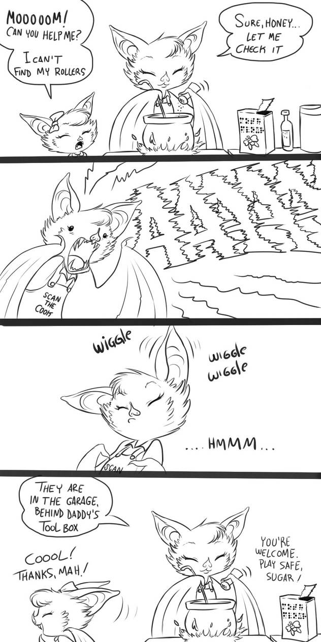 Batfind by chochi