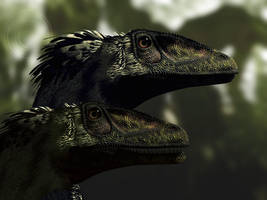 Deinonychus by PaleoGuy