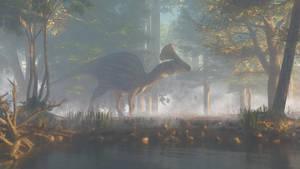 Olorotitan by PaleoGuy